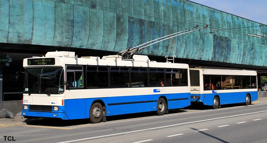 Trolleybus Luzern