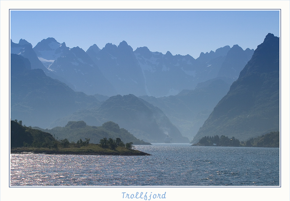 Trollfjord ...