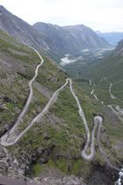 Trollstigen in Norwegen