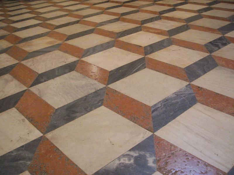 Fußboden  Tromp d'oeil Fußboden- Kathedrale, Sevilla Foto & Bild   europe ...