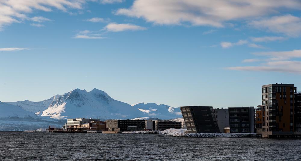 Tromsø - Hafenpromenade