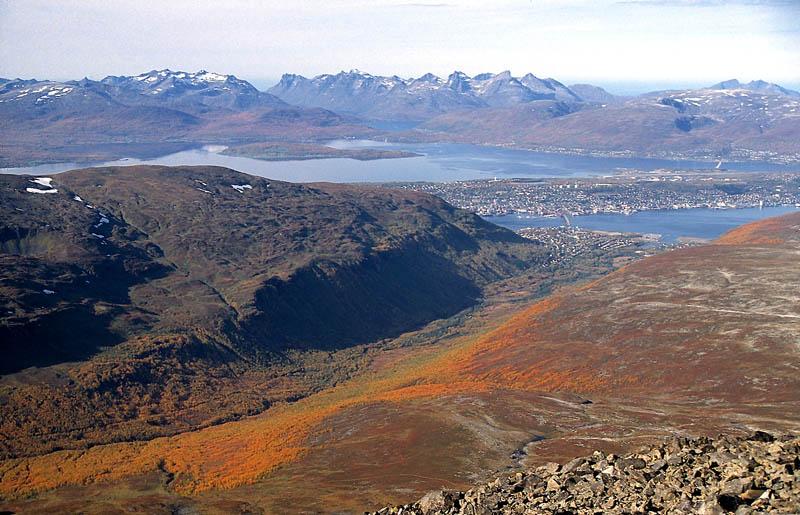 Tromsdalen im Herbst
