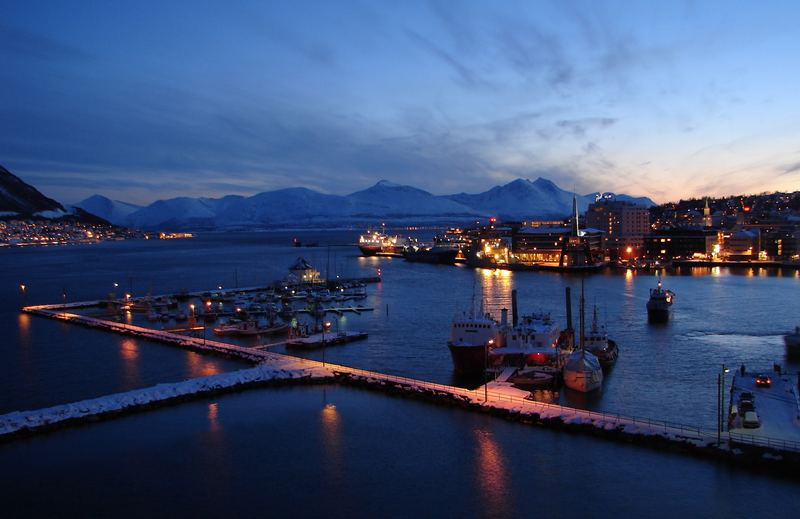 Tromsö am Abend