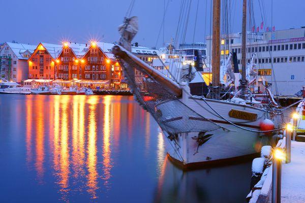 Tromsö Hafenquai