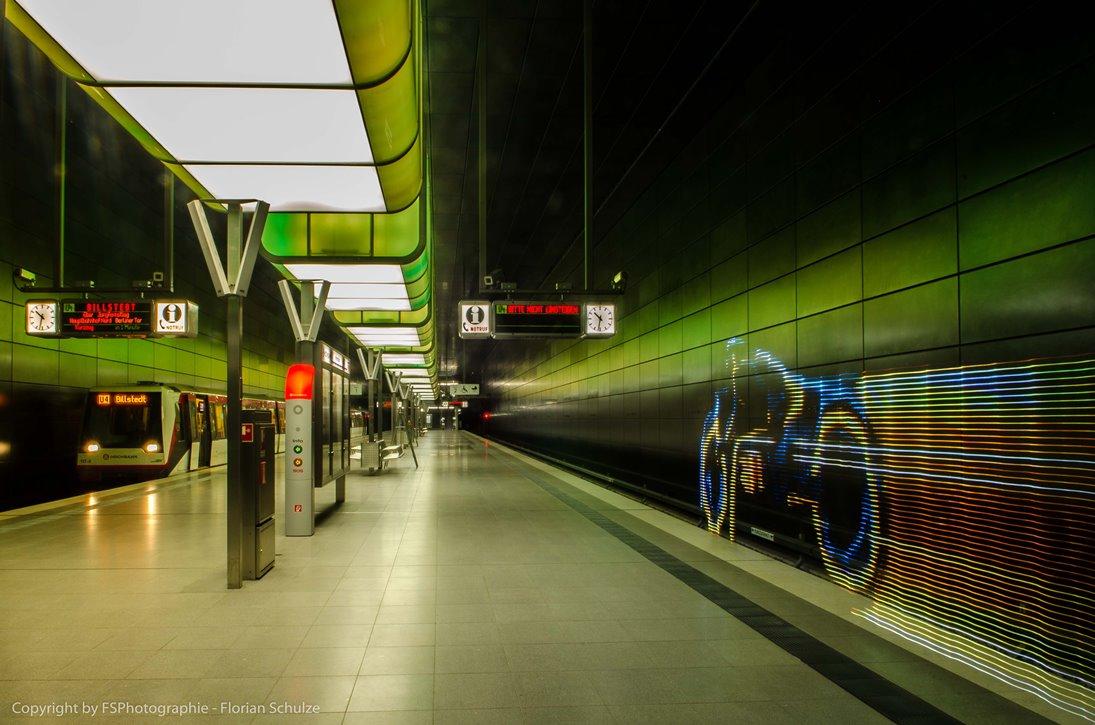 Tron Bike vs. U-Bahn