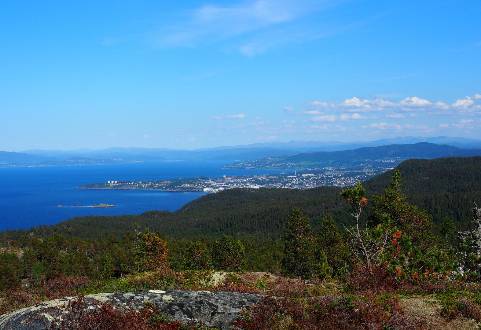 Trondheim von oben