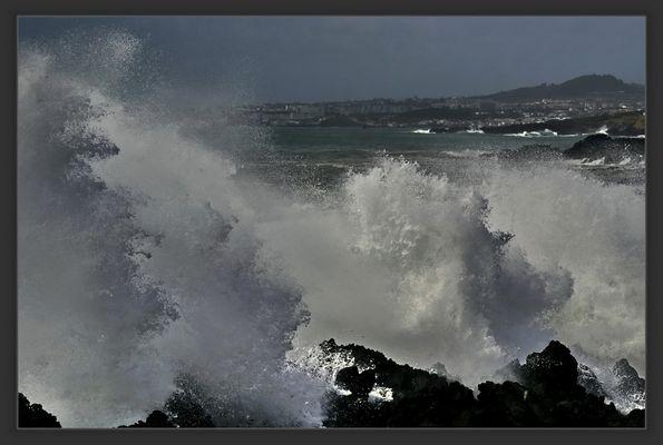 Tropensturm auf Sao Miguel , Azoren.....GISCHT Nr.2...!!!!!!!!!