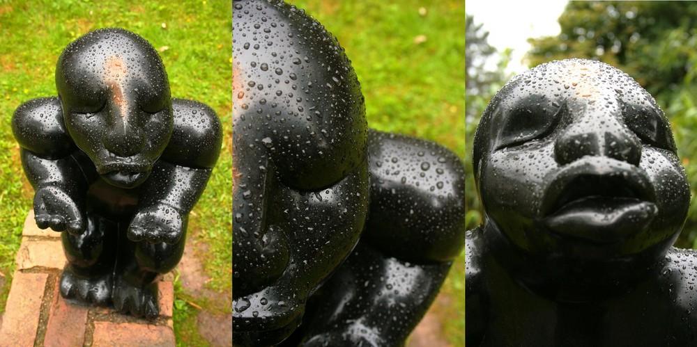 Tropfenskulptur