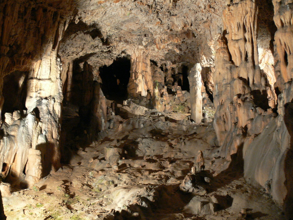 Tropfsteinhöhle auf der Insel Krk, Kroatien