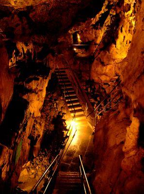 Tropfsteinhöhle bei Warstein im Sauerland