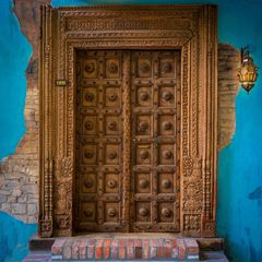 Tropical Door