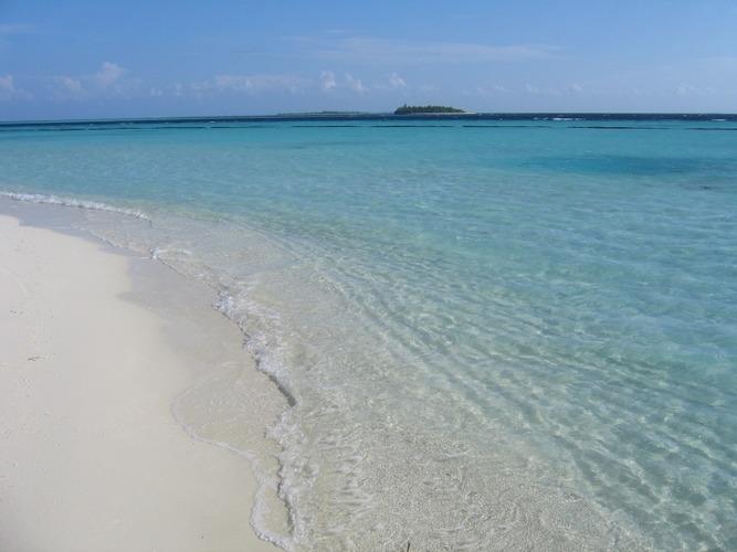 Tropical sand