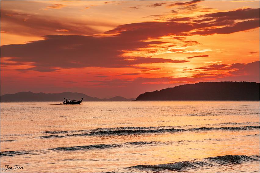 Tropical Sunset II