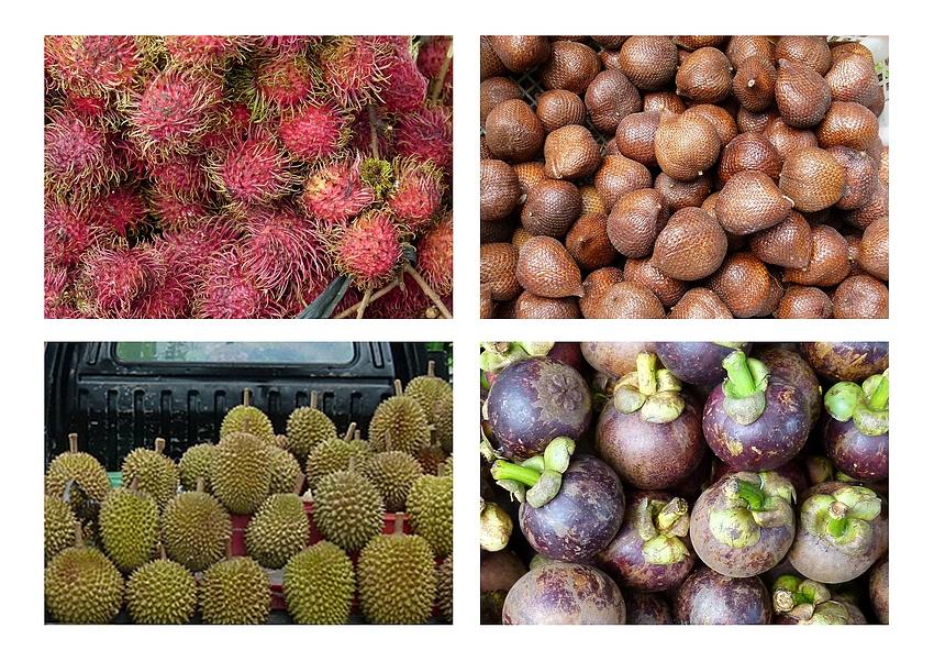 ...tropische Früchte...