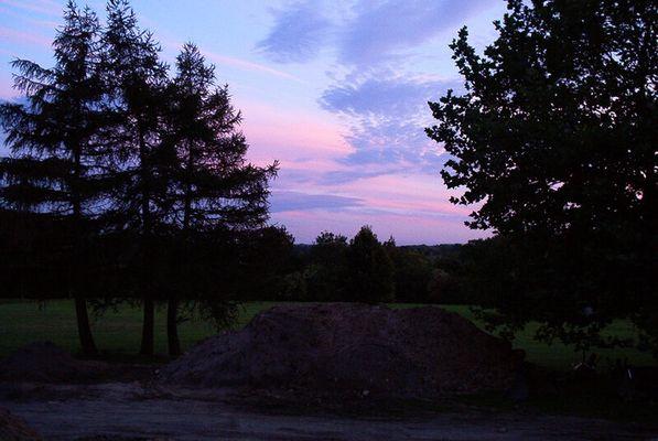 Trotz Baustelle ist der Himmel schön...
