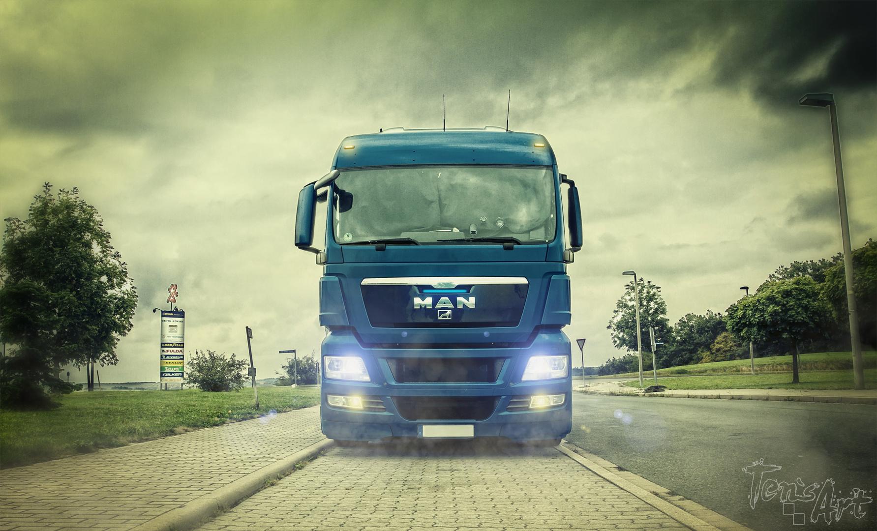 Truck drive
