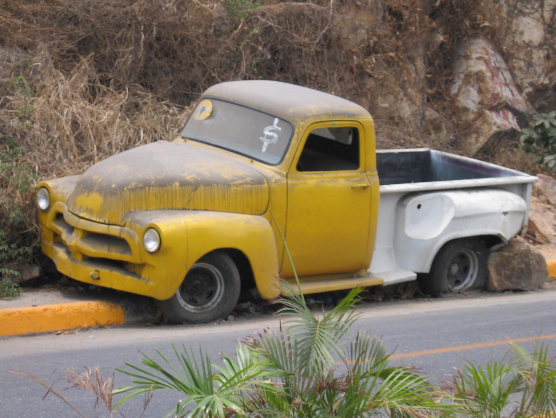 Truck in Acapulco