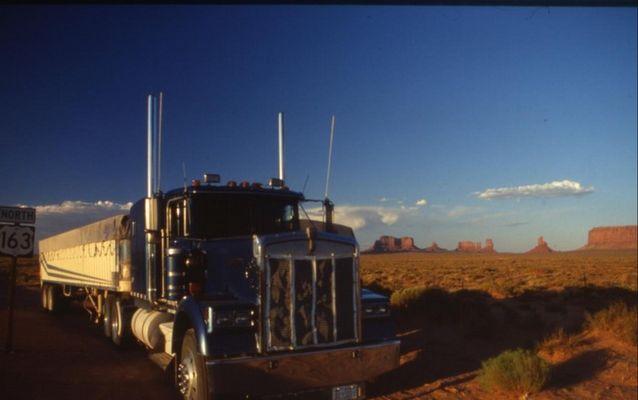 Truck in den USA