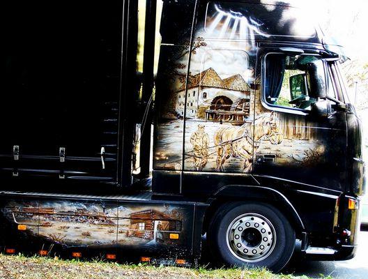 Truck mit Airbrush