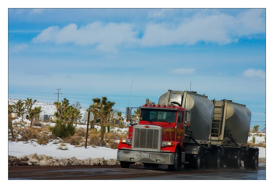 Trucks on the road (I)