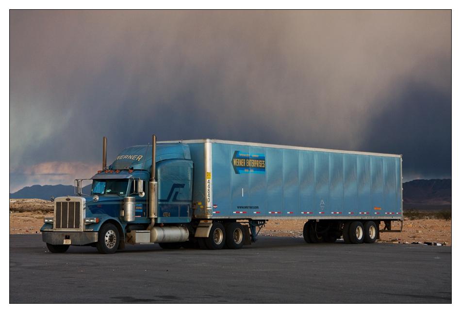 Trucks on the road (III)