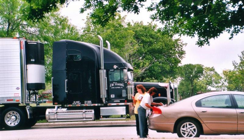 Truckstop in Texas