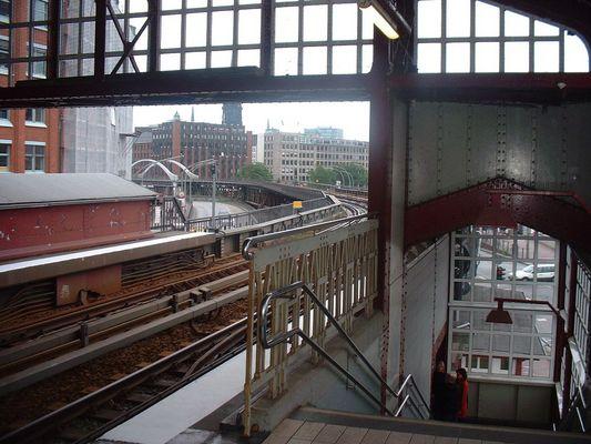 trüber Alltag in Hamburg