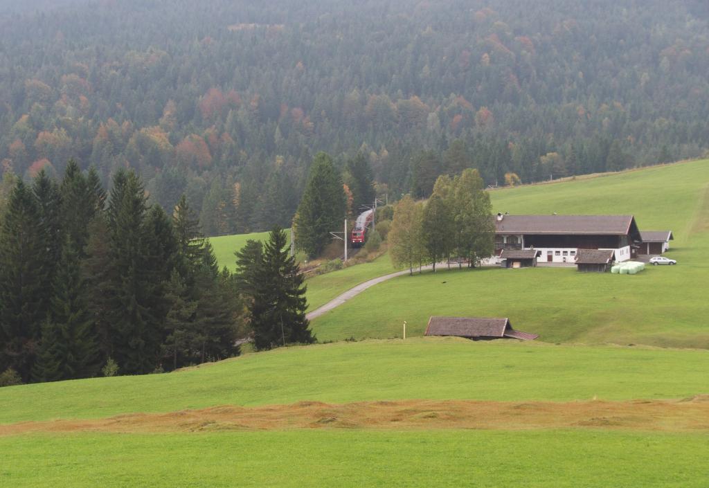 Trübes Wetter, Buckelwiesen, Sepplhof und....