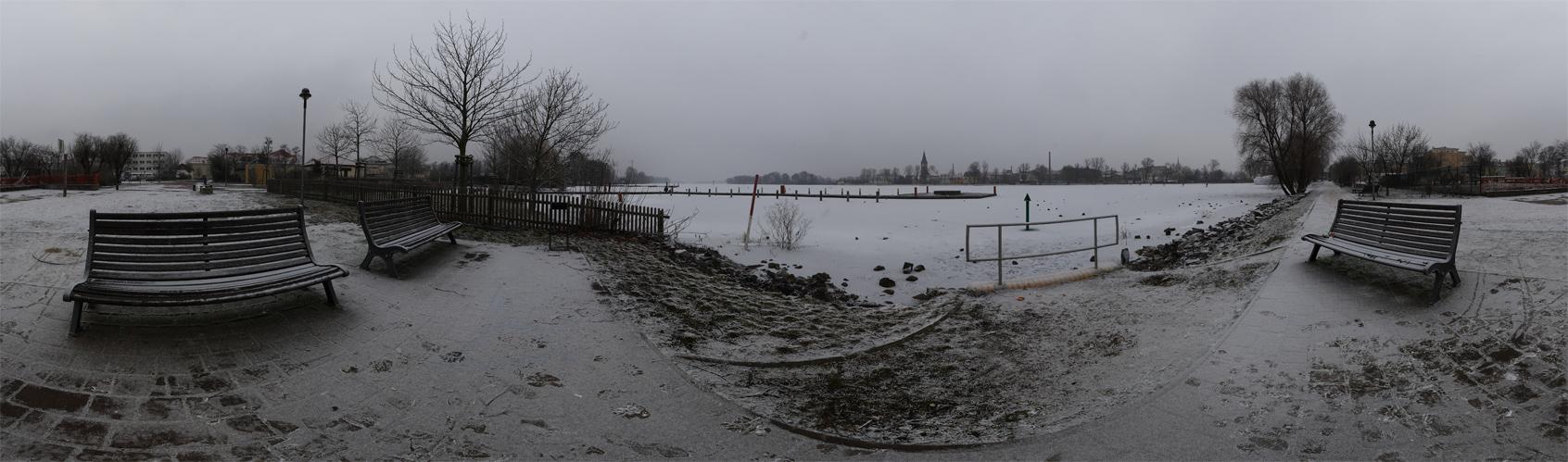 Trübes Wetter in Werder