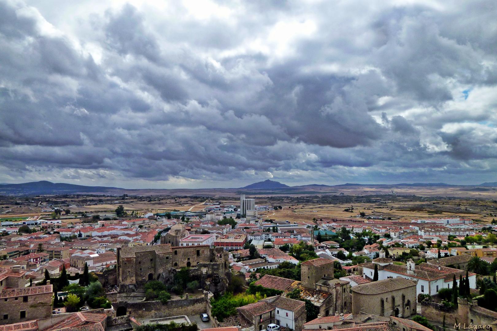 Trujillo-Cáceres-España desde el campanario