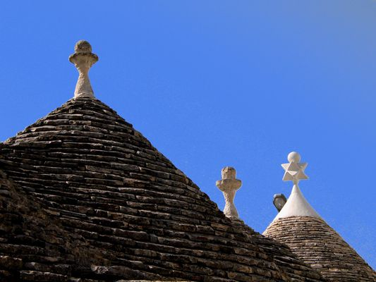 Trulli-Detail in Alberobello