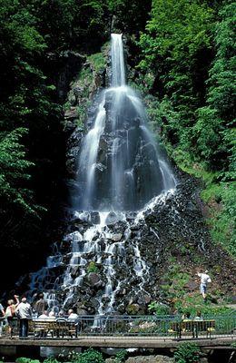 Trusetaler Wasserfall über 50 Meter!
