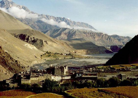 Trutzburg - Mittelalterliches Dorf in Nepal