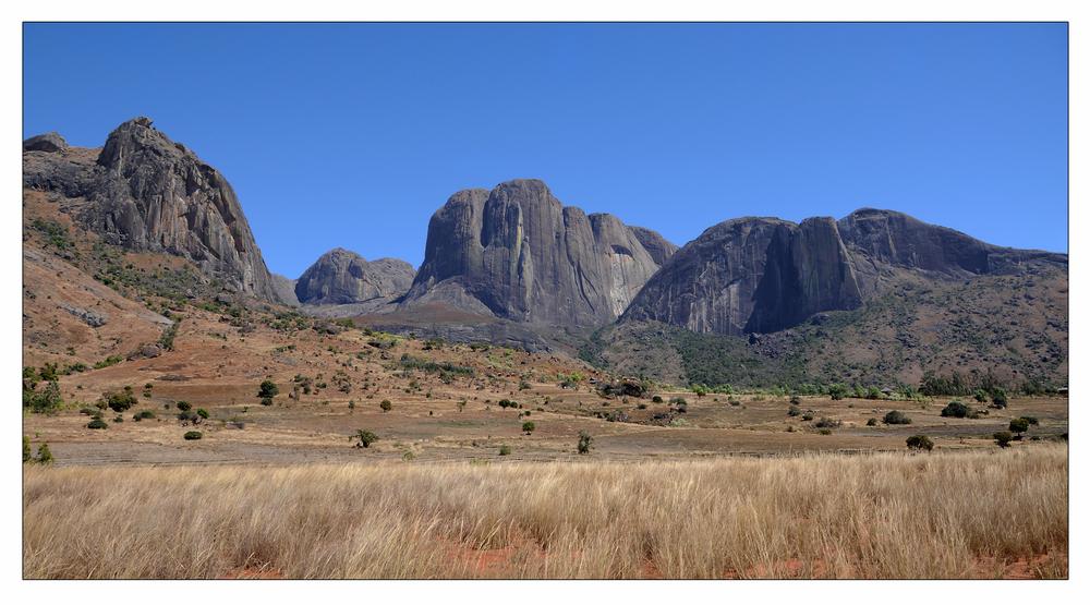 Tsaranoro Gebirge