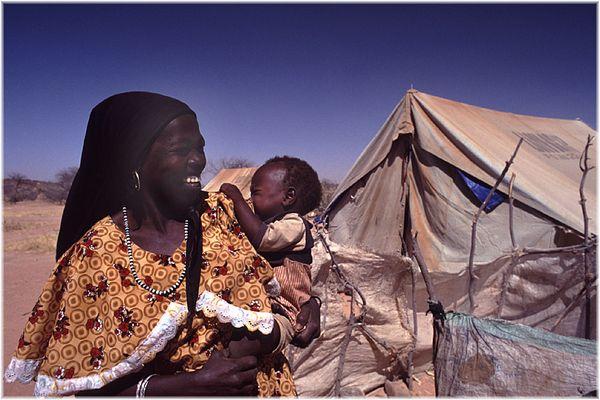 TSCHAD, Flüchtlingslager in Farchana 2/4