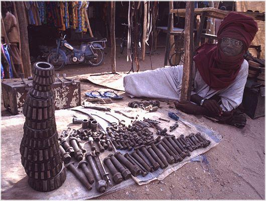 TSCHAD, Markt in Abéché