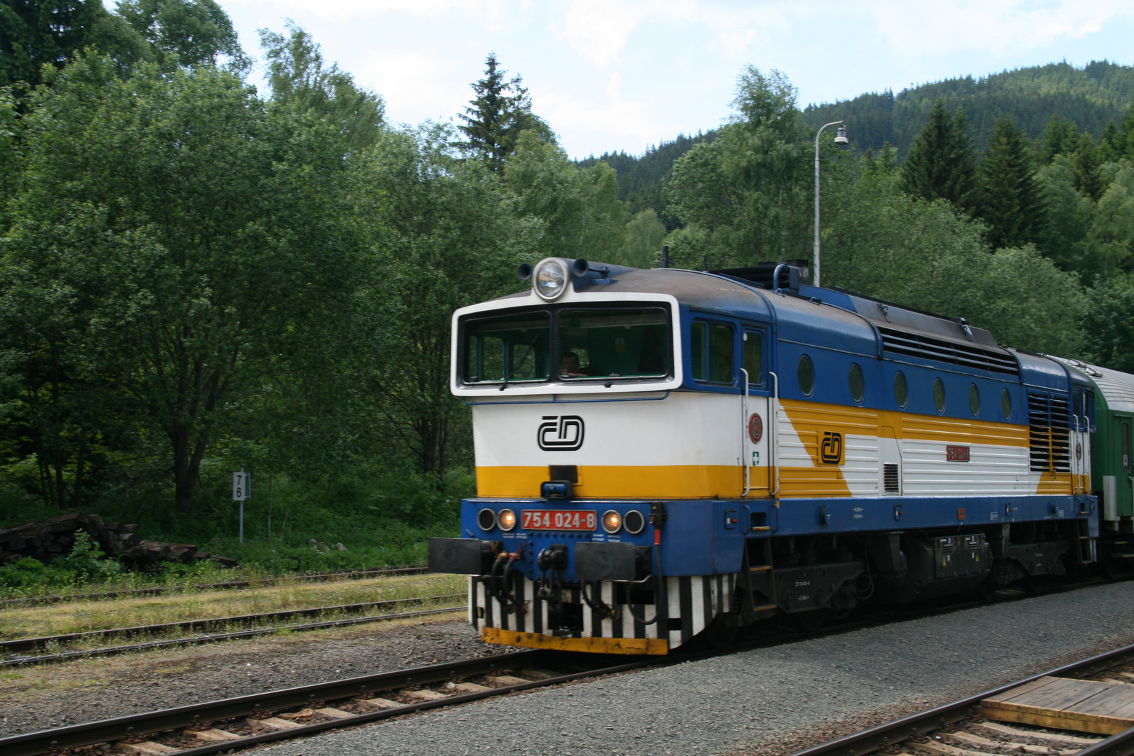 Tschechische Diesellok