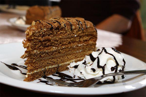 Tschechischer Honigkuchen....