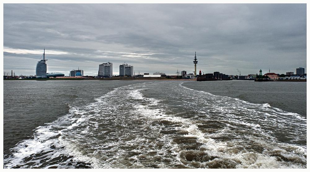 Tschüss Bremerhaven...