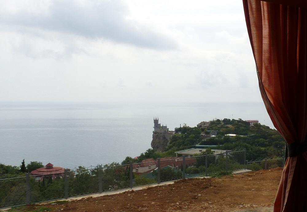 Tschüß Jalta mit dem Schwalbennest.