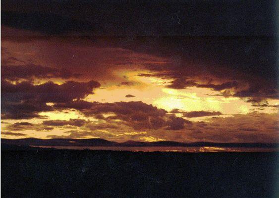 Tschüss, Sonne - am Lago Ypacaray, Paraguay