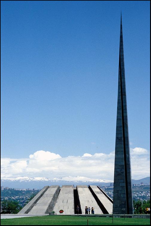 Tsitsernakaberd (Mahnmal zum Gedenken an den Völkermord von 1915) (Armenien)