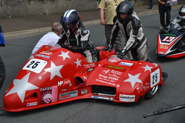 TT 2016 Isle of man  Sidecar Racing