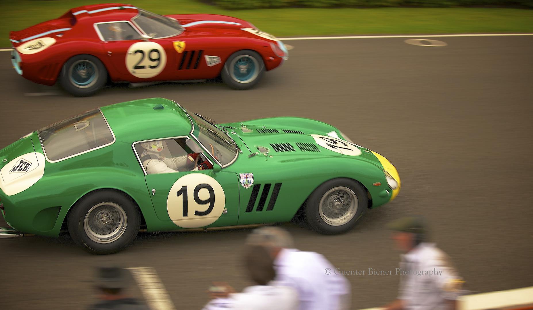 TT Celebration Race, Ferrari 250 GTO (Nr. 19)....
