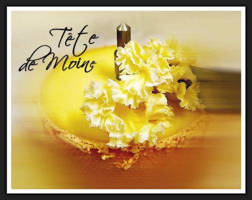 TÊTE DE MOINE ... lecker' Käse aus der Schweiz