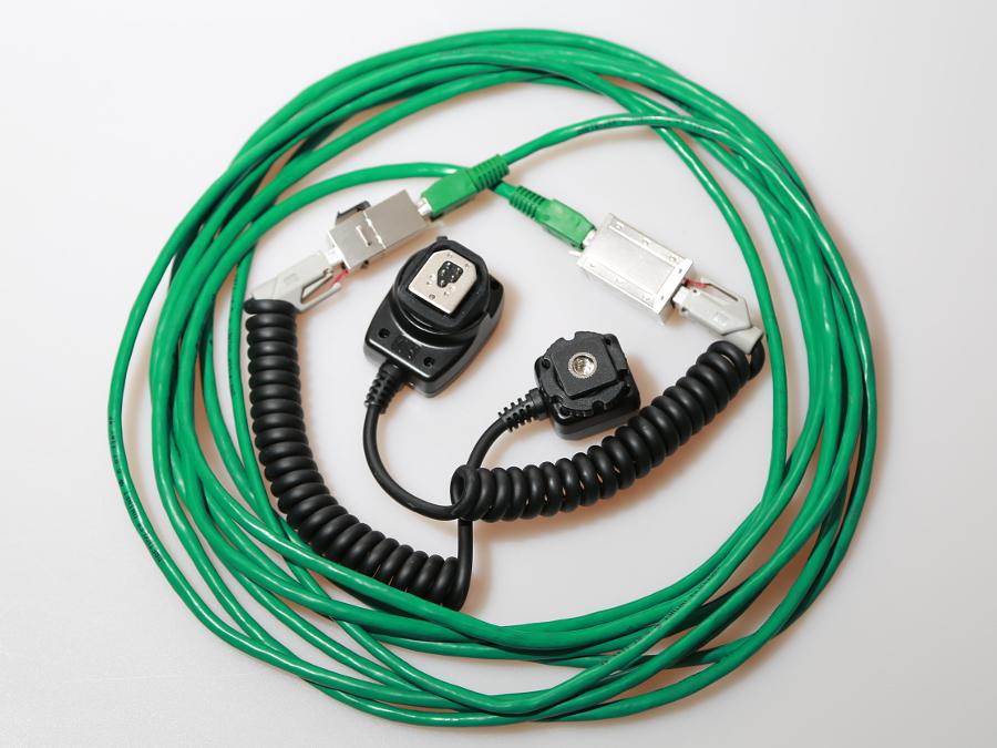 TTL-Kabel mit Netzwerkkabel verlängern