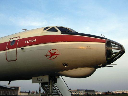 TU-134 Interflug (DDR-SCB)