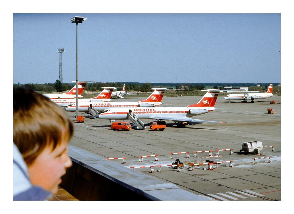Tu 134A der Interflug der DDR