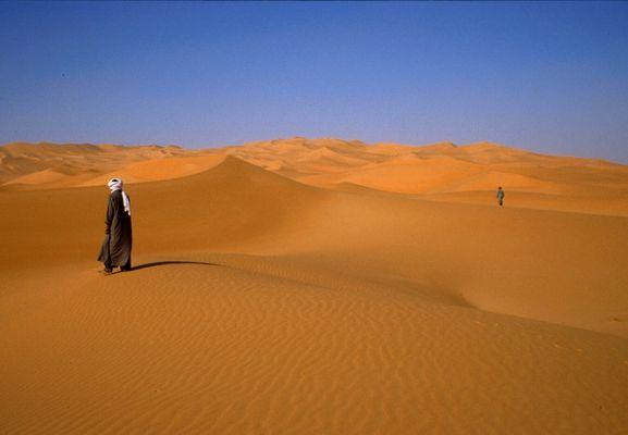 Tuarec in Dünen