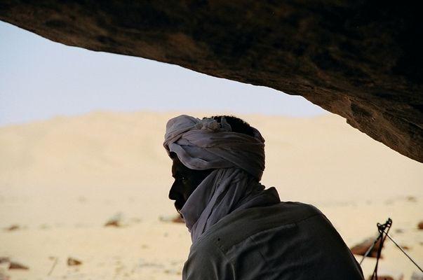 Tuareg im Profil